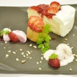 苺のデザートプレート ¥800
